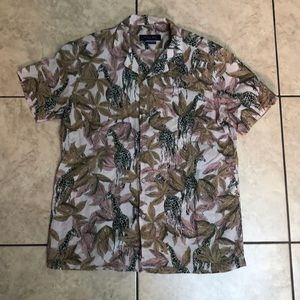 Zaraman Giraffe Button Down